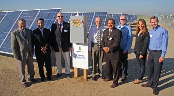 California City Extols Virtues Of 487 kW Solar Array For Its Wastewater Treatment Plant