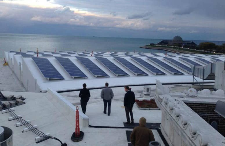 Schneider Electric And Inovateus Solar Complete Solar Array For Chicago Aquarium