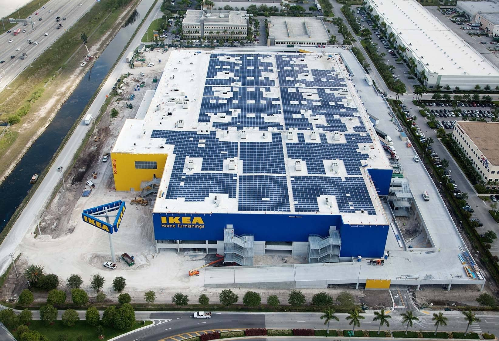 IKEA Completes Solar Array For New Florida Location