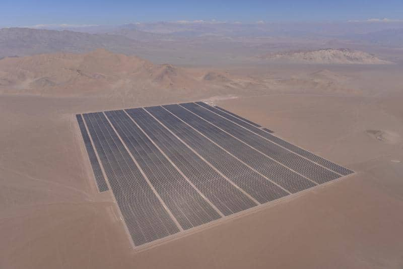 Chile Inaugurates 100 MW Amanecer Solar CAP PV Plant