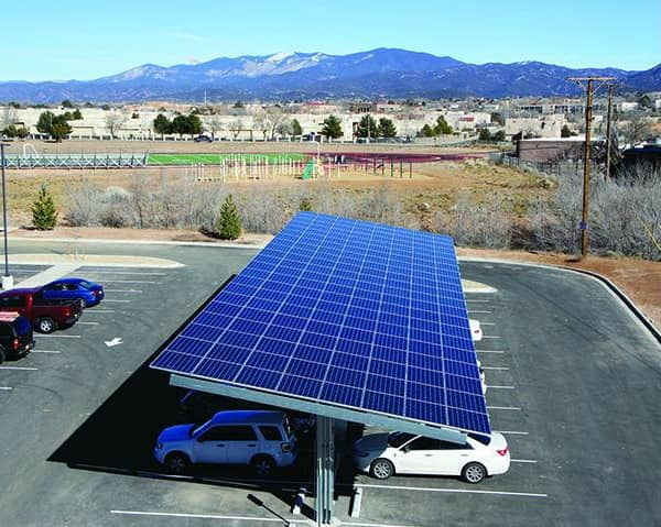 Positive Energy Solar Completes New Array For Santa Fe Community College