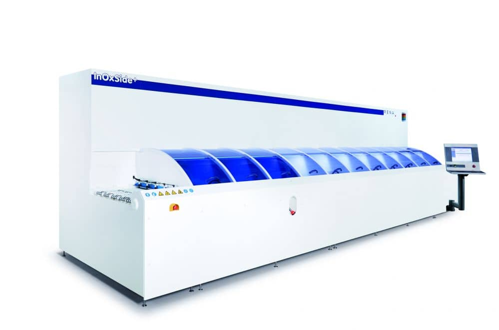 RENA Unveils New Machine For Wet Chemical Processing Of PERC Solar Cells