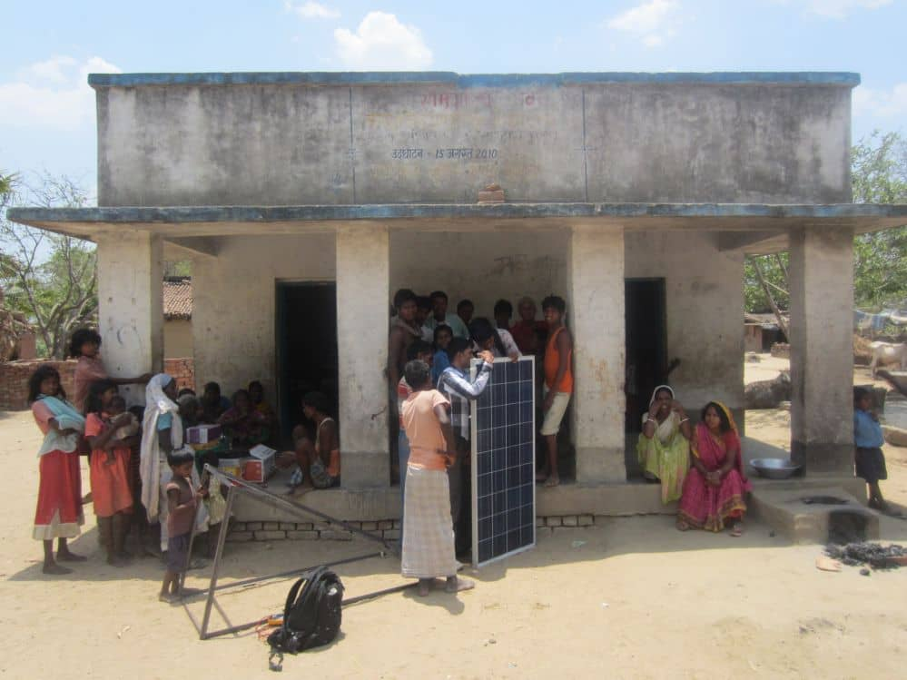 Nonprofit Launches Village Solar Electrification Project In India