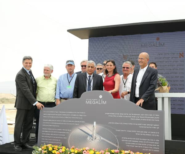 Cornerstone Laid At Ashalim CSP Plant In Israel