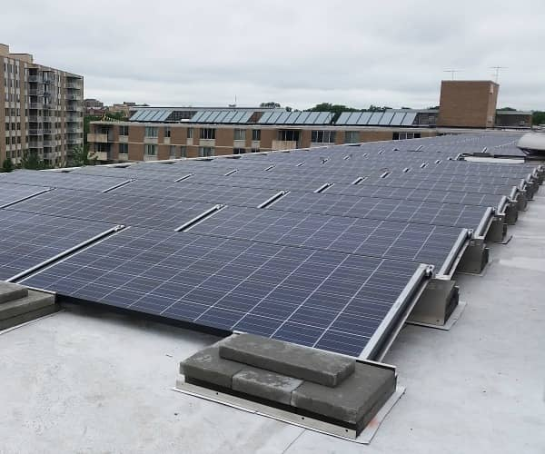 Sigora Solar Completes Rooftop PV And Thermal Install On D.C. Building