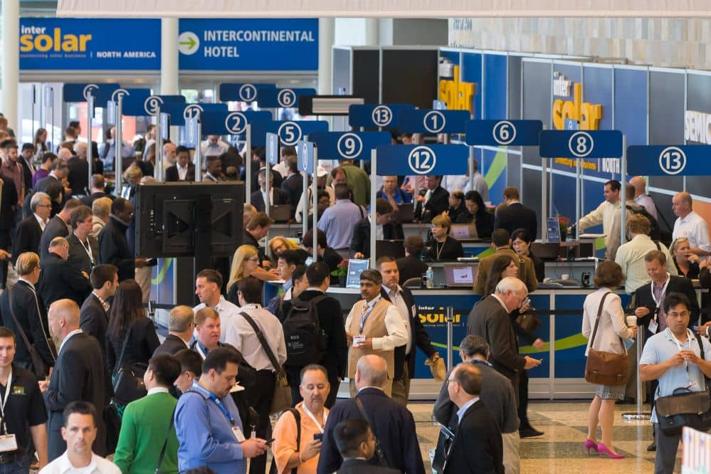 Intersolar North America 2015 In Full Swing This Week