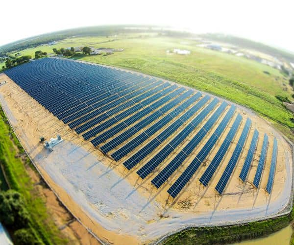 Texas Electric Cooperative's 2.7 MW Solar Farm Nearly Ready For Business