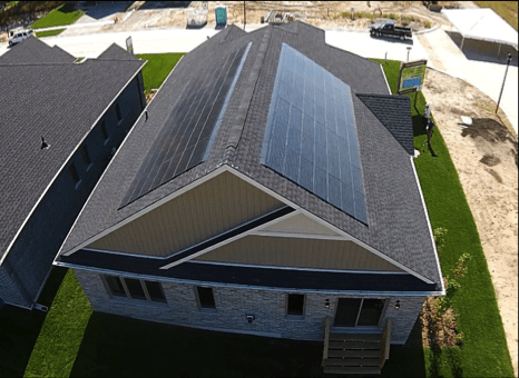 Model Home In Ontario Equipped With Solar Shingles
