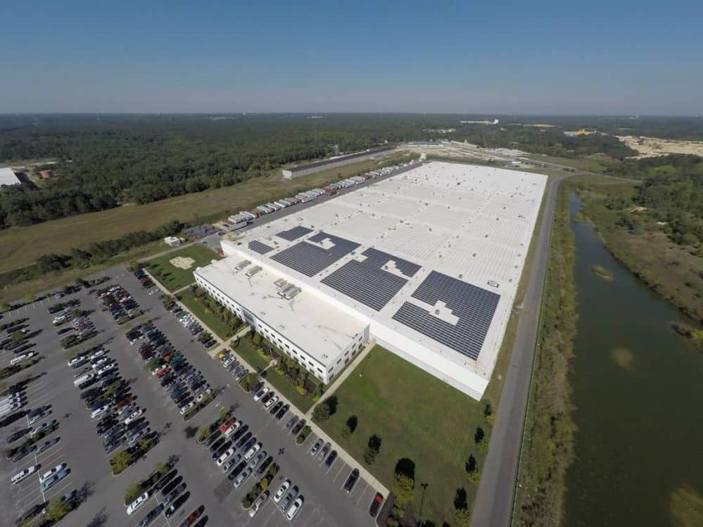15820_pro-tech-energy-solutions-installs-aets-rayport-b-eco-roof-system-in-3.5-mw-project AET Supplying Rayport-B ECO Solar Racking For AC Moore Rooftop