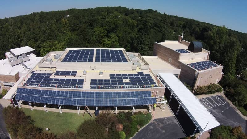 15865_288179 Yes! Solar Completes 84.7 kW Array For N.C. Church