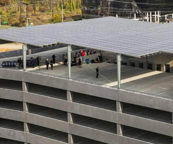 Standard Solar Completes Garage-Top Solar Canopy In Maryland