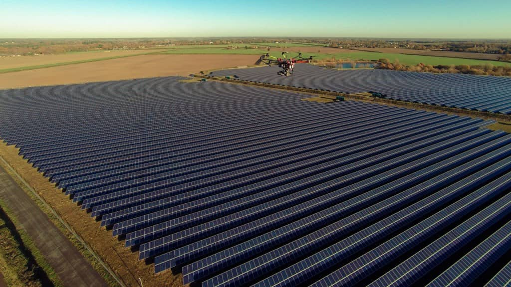 Above-Surveying-3 New U.K. Company Uses Drones To Inspect Solar Projects