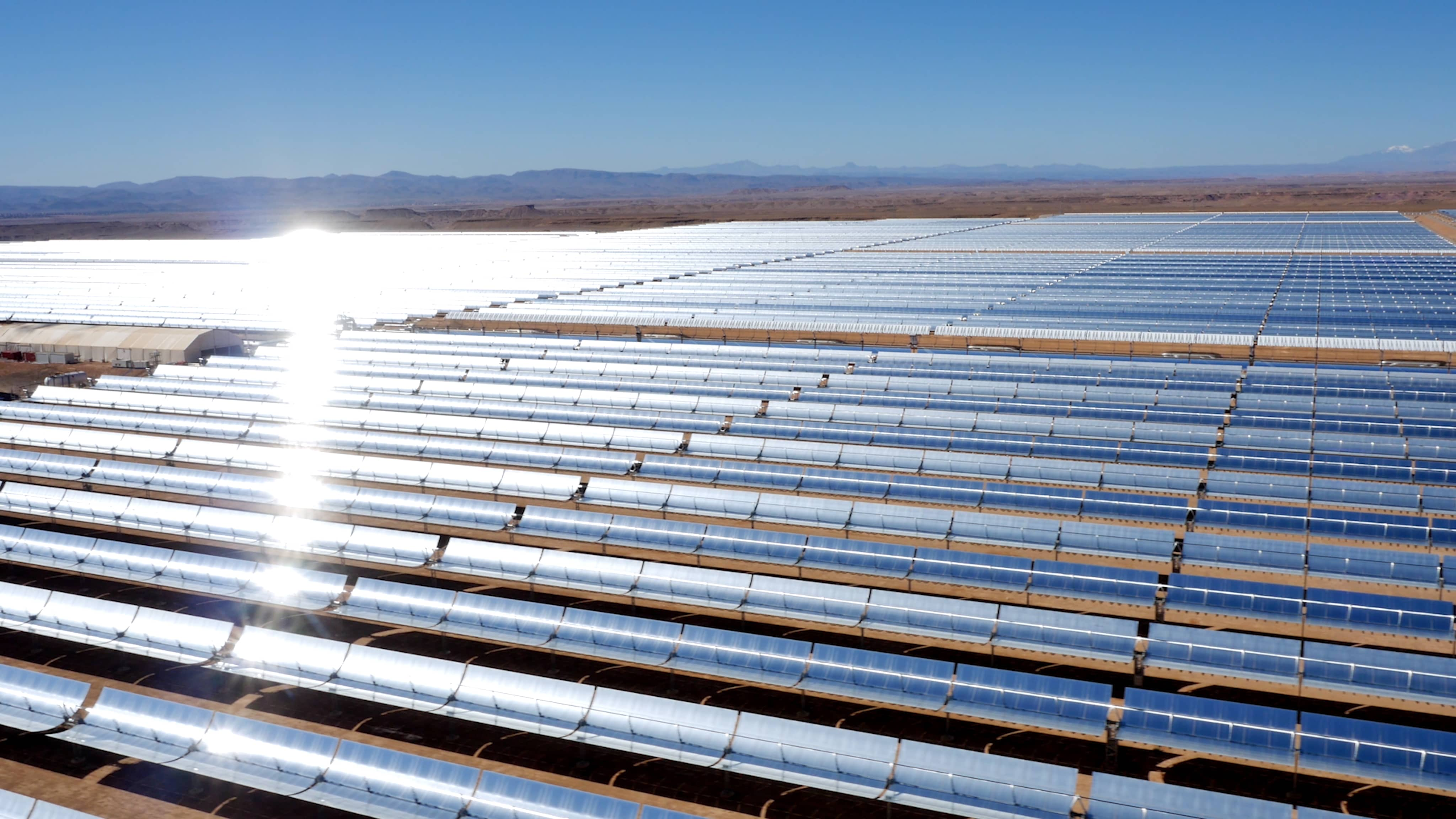 Marocco Morocco Inaugurates First Phase Of Huge Solar Project