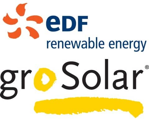 2 EDF Renewable Energy Announces Acquisition Of groSolar