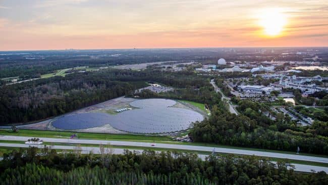Mickey-Mouse Disney And Duke Dedicate Mickey-Mouse-Shaped Solar Project