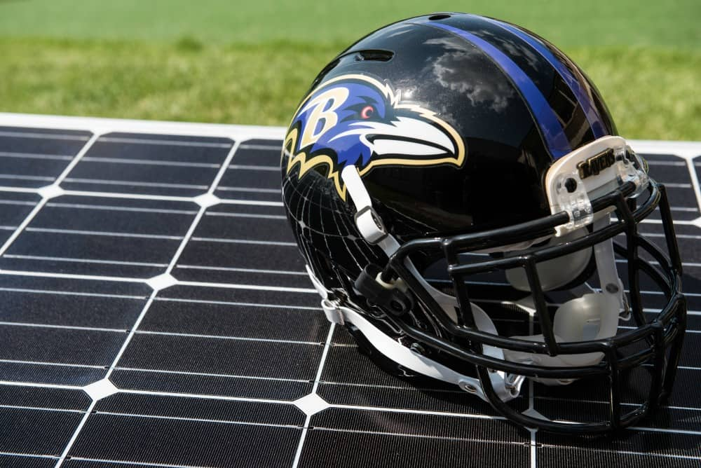 Constellation-1 Baltimore Ravens, Constellation Complete Solar Project At Team's HQ