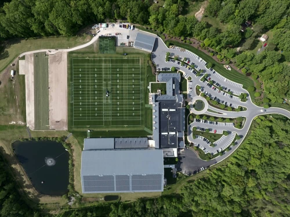 Constellation-2 Baltimore Ravens, Constellation Complete Solar Project At Team's HQ