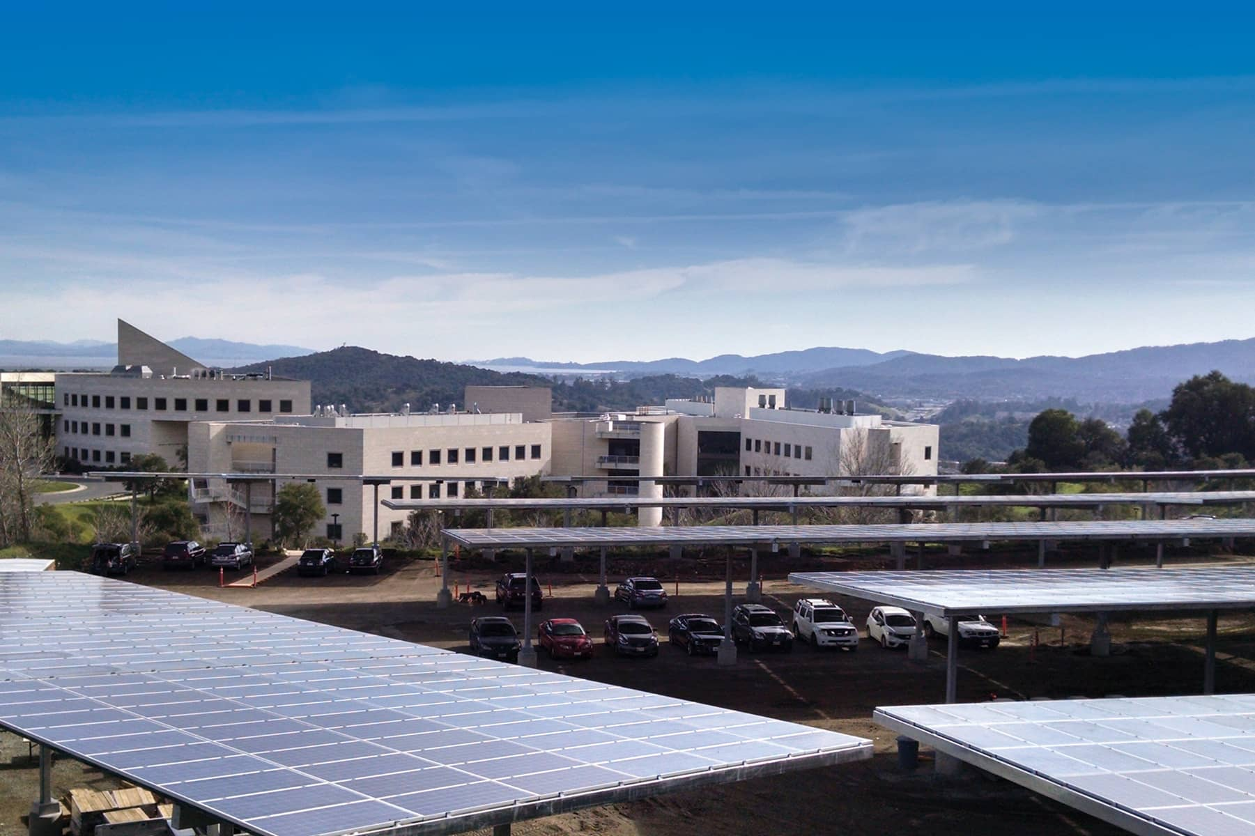 edf EDF RE Completes Solar Carport At Buck Institute For Research On Aging