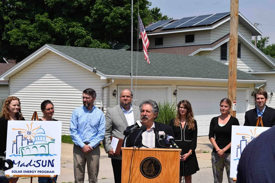 MadiSun City Of Madison Launches Two Residential Solar Programs