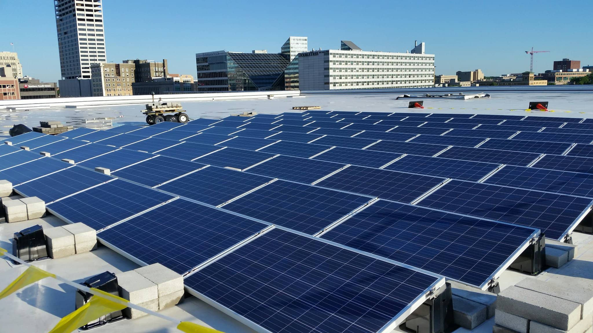 South-Bend City Of South Bend Adds Rooftop Solar At Convention Center