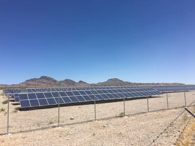 cox Cox Enterprises Commissions Two Solar Projects In Nevada