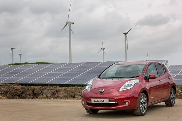 nissan Nissan Powers Car Factory With Solar And Wind