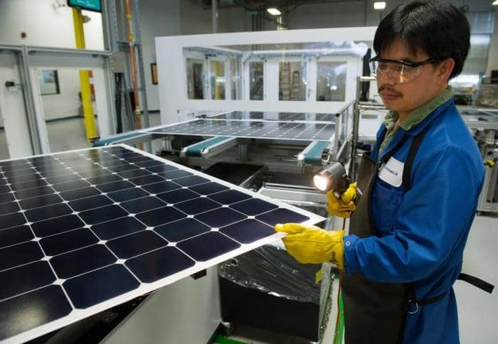 sunpower-1 SunPower Breaks Efficiency Record For Silicon Solar Panel