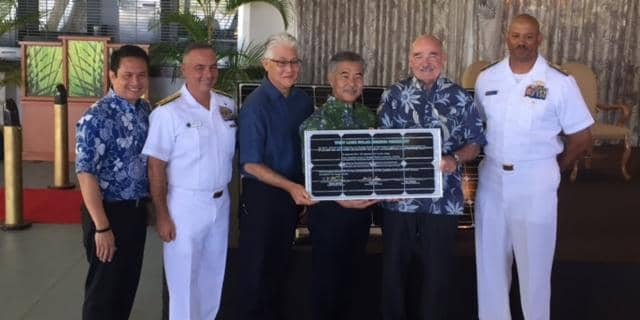 navy Navy And Hawaiian Electric Plan Large Solar Project At Base