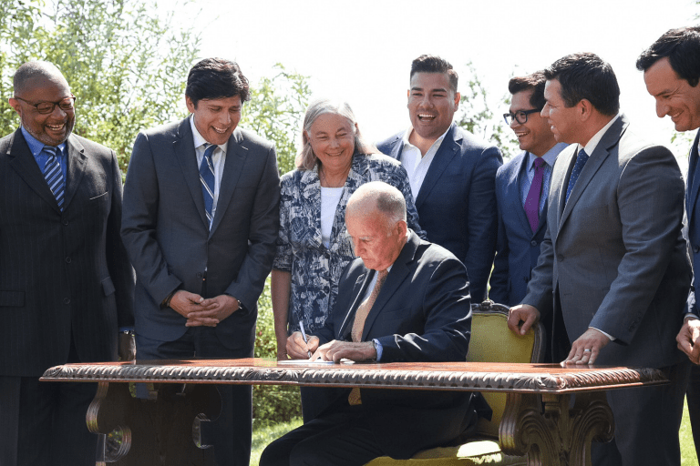 California California Cements Climate Change Plans With New Legislation