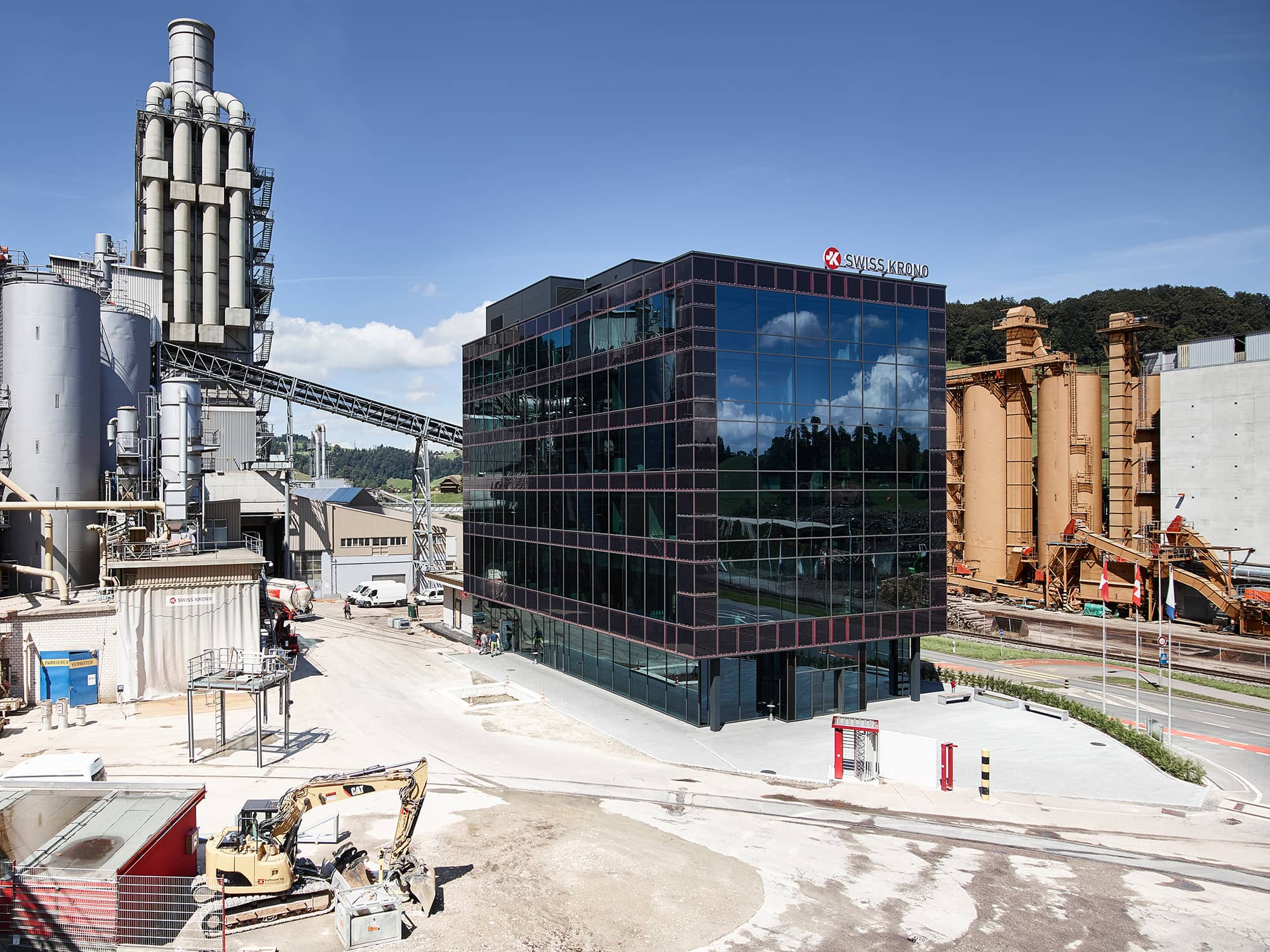 Meyer Burger Provided Glass-Glass Modules For Building's Solar Facade - S...