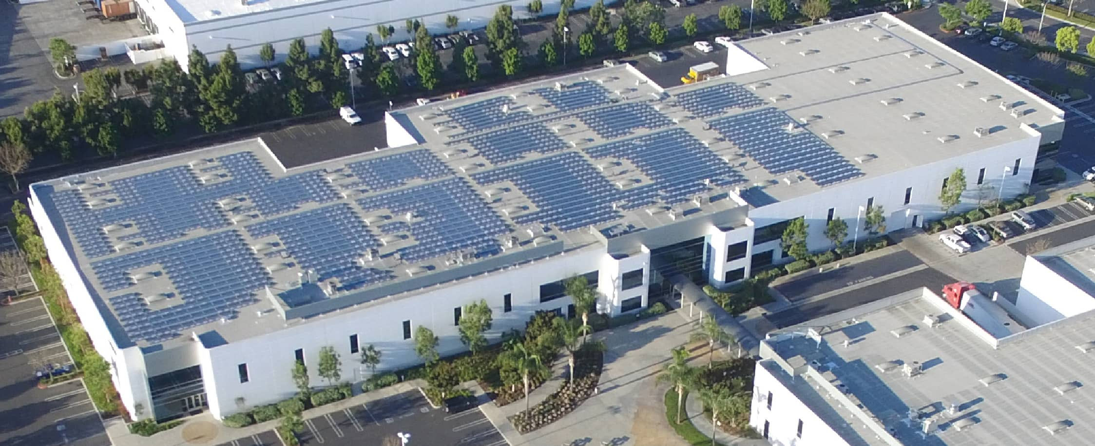 mitsubishi electric powers u s hq with its own solar. Black Bedroom Furniture Sets. Home Design Ideas