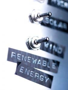 Conceptual switches for renewable energy.