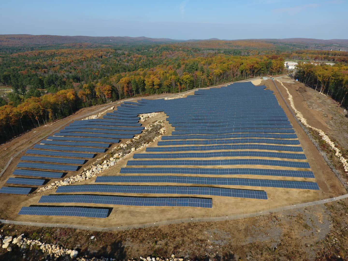 DJI_0007-Large Standard Solar Completes 3.4 MW For Town Of Stafford