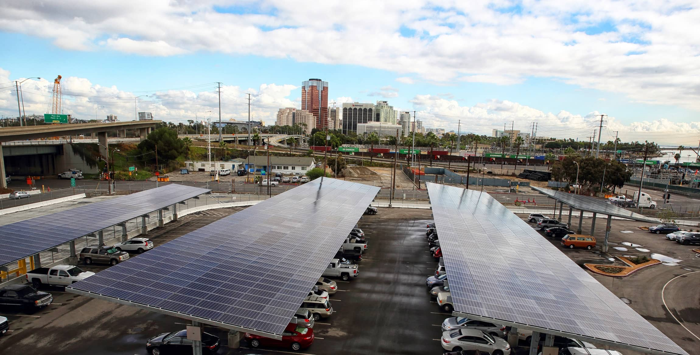 Port Port Of Long Beach Goes Greener With Solar Carports