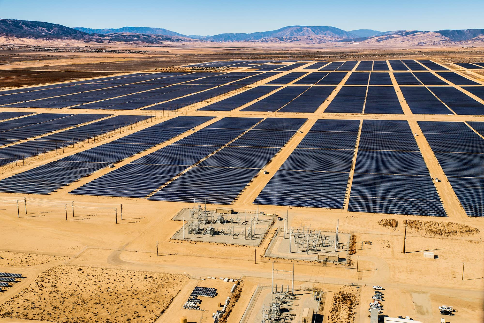 recurrent-energy 200 MW Garland Solar Facility Goes Online
