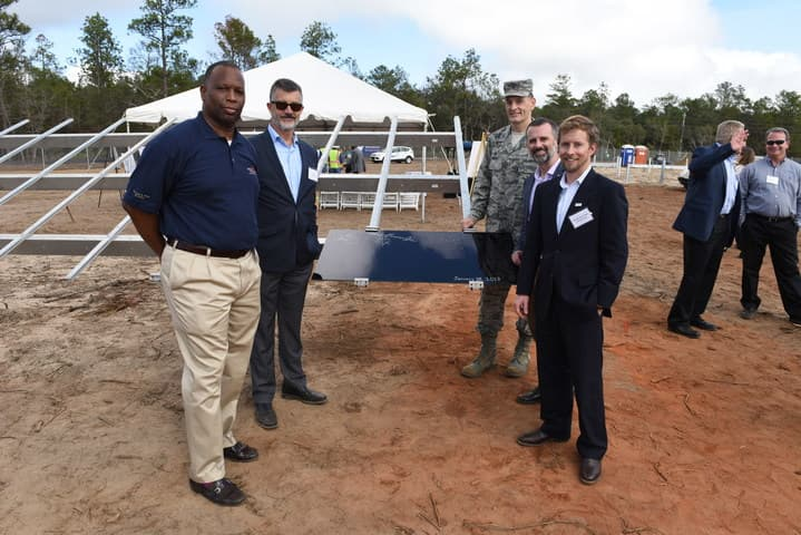 Coronal_Energy Fla. Public-Private Solar Partnership Is Building 120 MW On Military Land