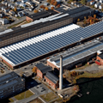 Rooftop Solar Powers Joseph Abboud Clothing Factory