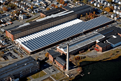 New-Bedford Rooftop Solar Powers Joseph Abboud Clothing Factory