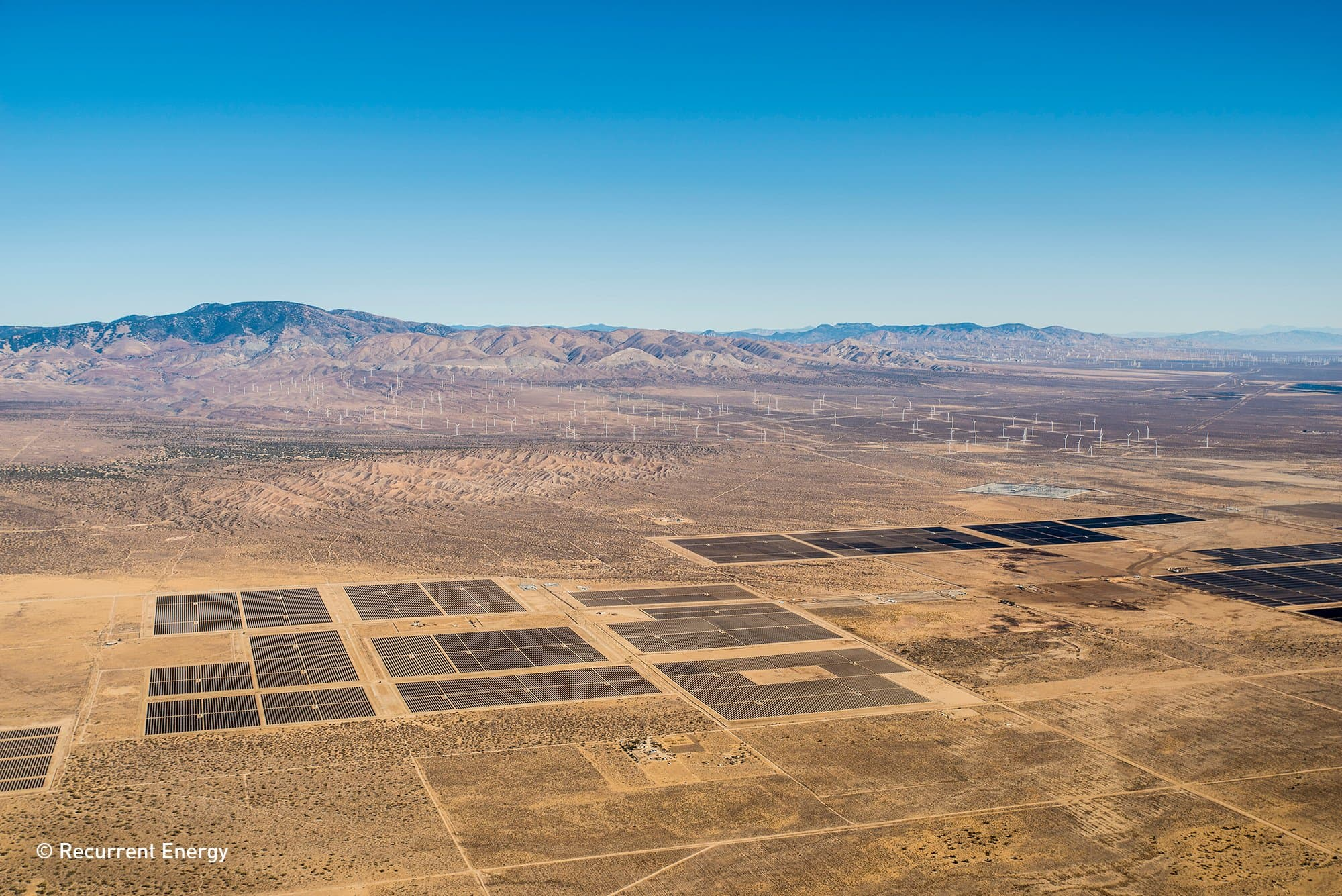 Recurrent Recurrent Energy Flips Switch On Two California Solar Projects