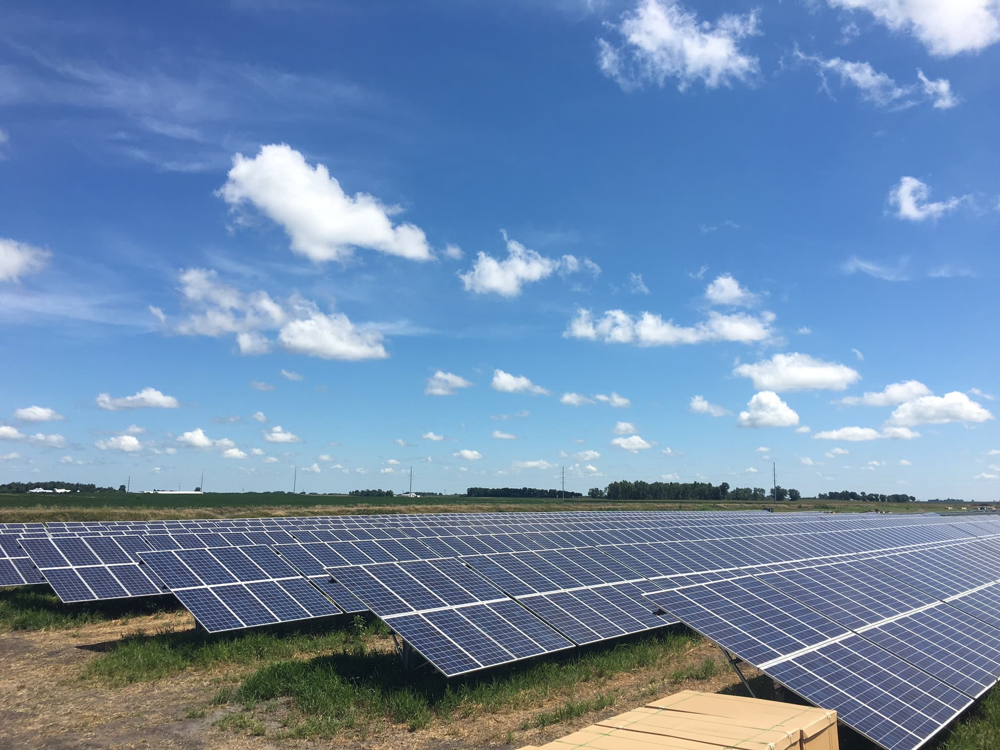 Xcel Large Solar Project Goes Online In Minnesota