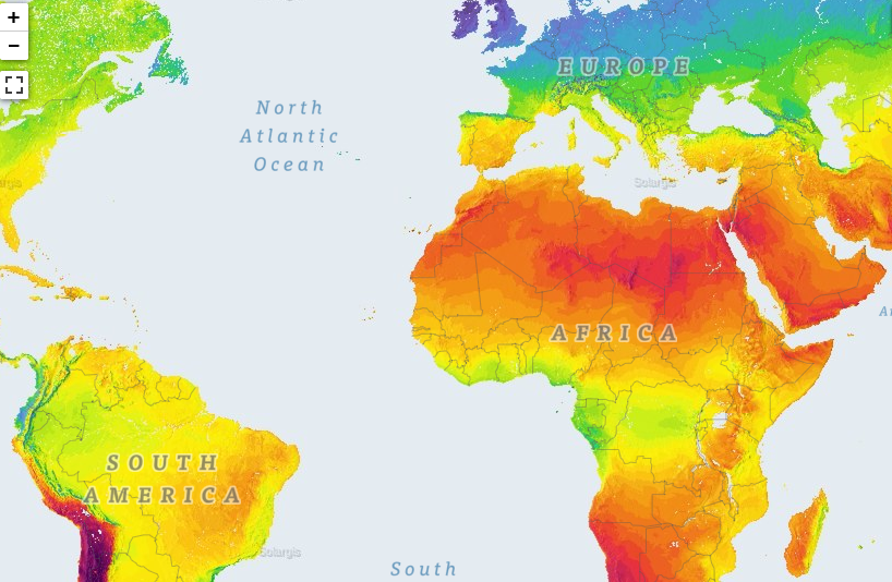 world-bank World Bank Launches Online Tool Mapping Solar Potential