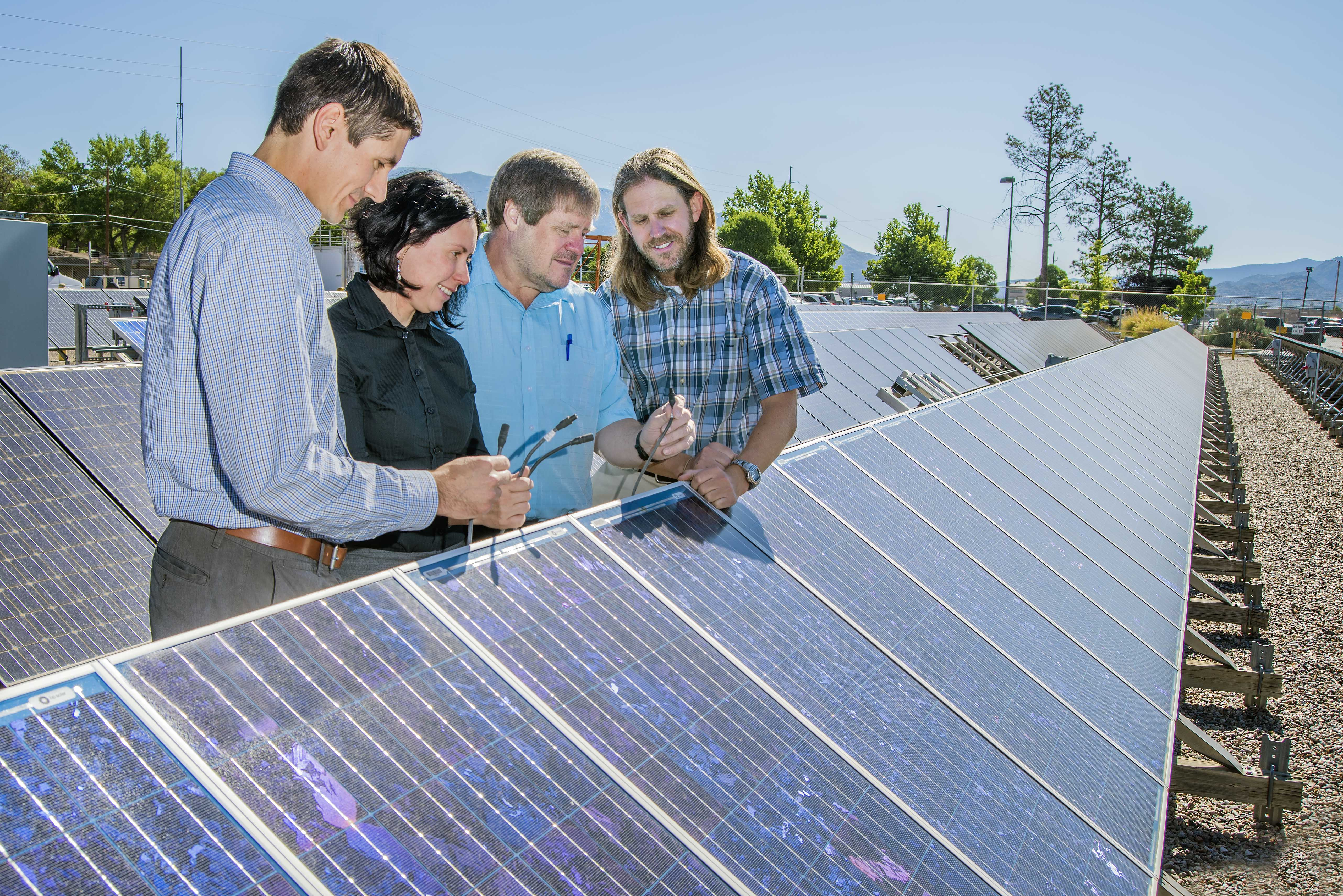 Corrosion National Lab Researchers Work To Battle Solar Panel Corrosion