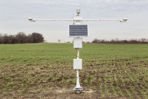 SP-12_solar_weather_station_installed Vaisala Launches Ground-Based Solar Measurement Solution