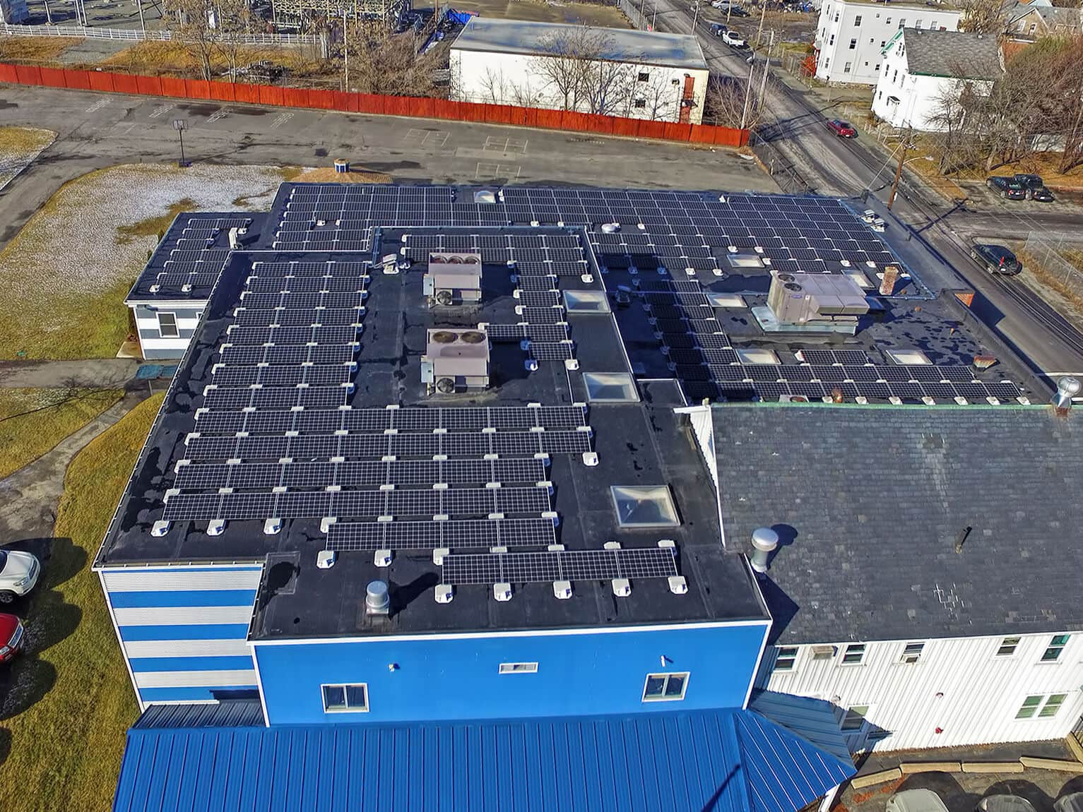 Solect Lawrence Family Development Charter School Adds Rooftop Solar