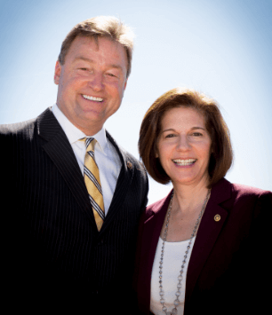 U.S.-Senators-Dean-Heller-R-NV-and-Catherine-Cortez-Masto-D-NV First Solar Commissions 250 MW Utility-Scale Solar Plant On Tribal Land
