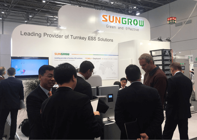 sungrow PV Inverter Manufacturer Demonstrates New Energy Storage Solutions