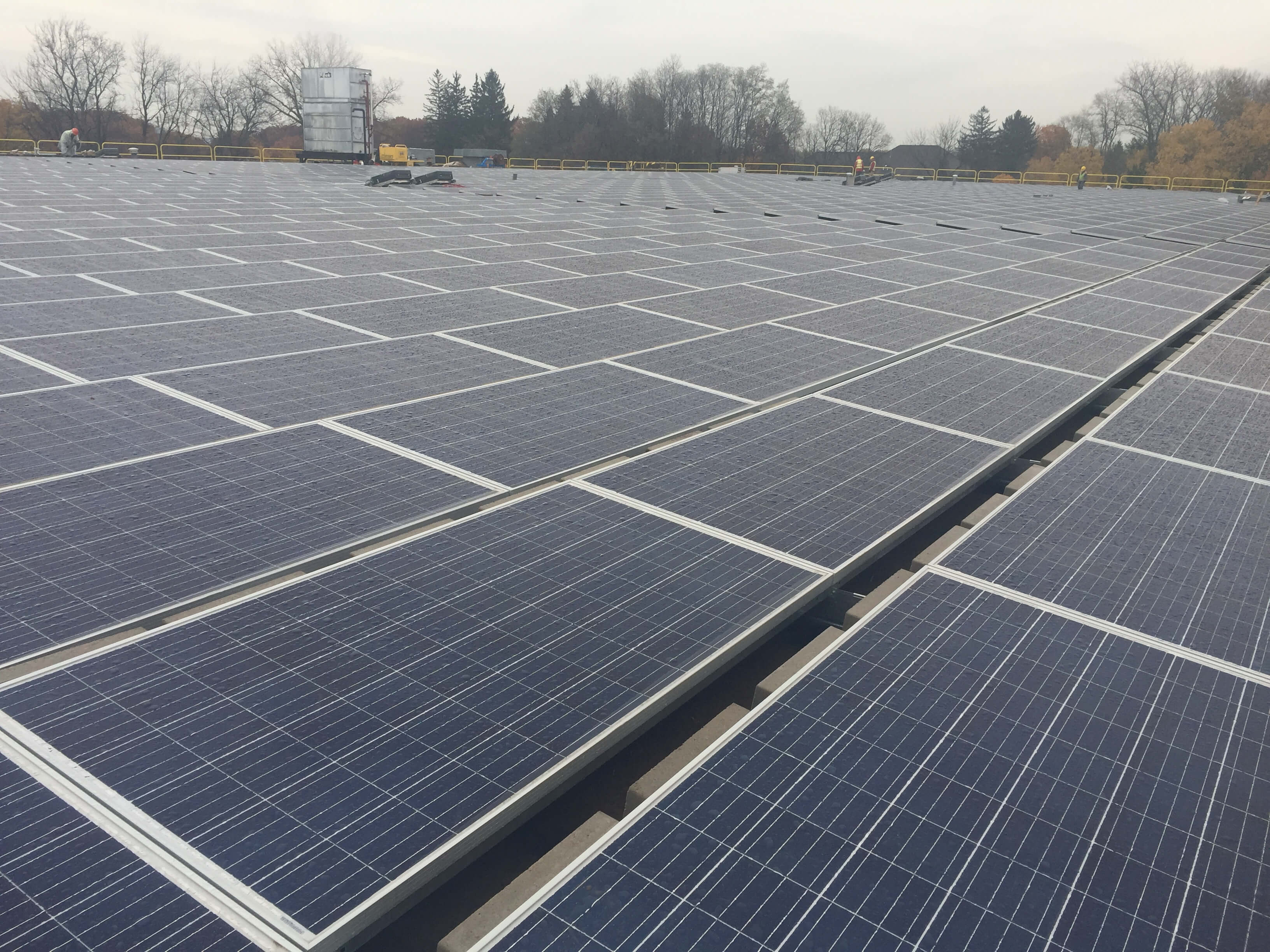 NYSERDA N.Y. Food Bank Completes State-Backed Solar Projects