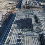 Large Solar Installation Takes Shape At New Toyota Headquarters
