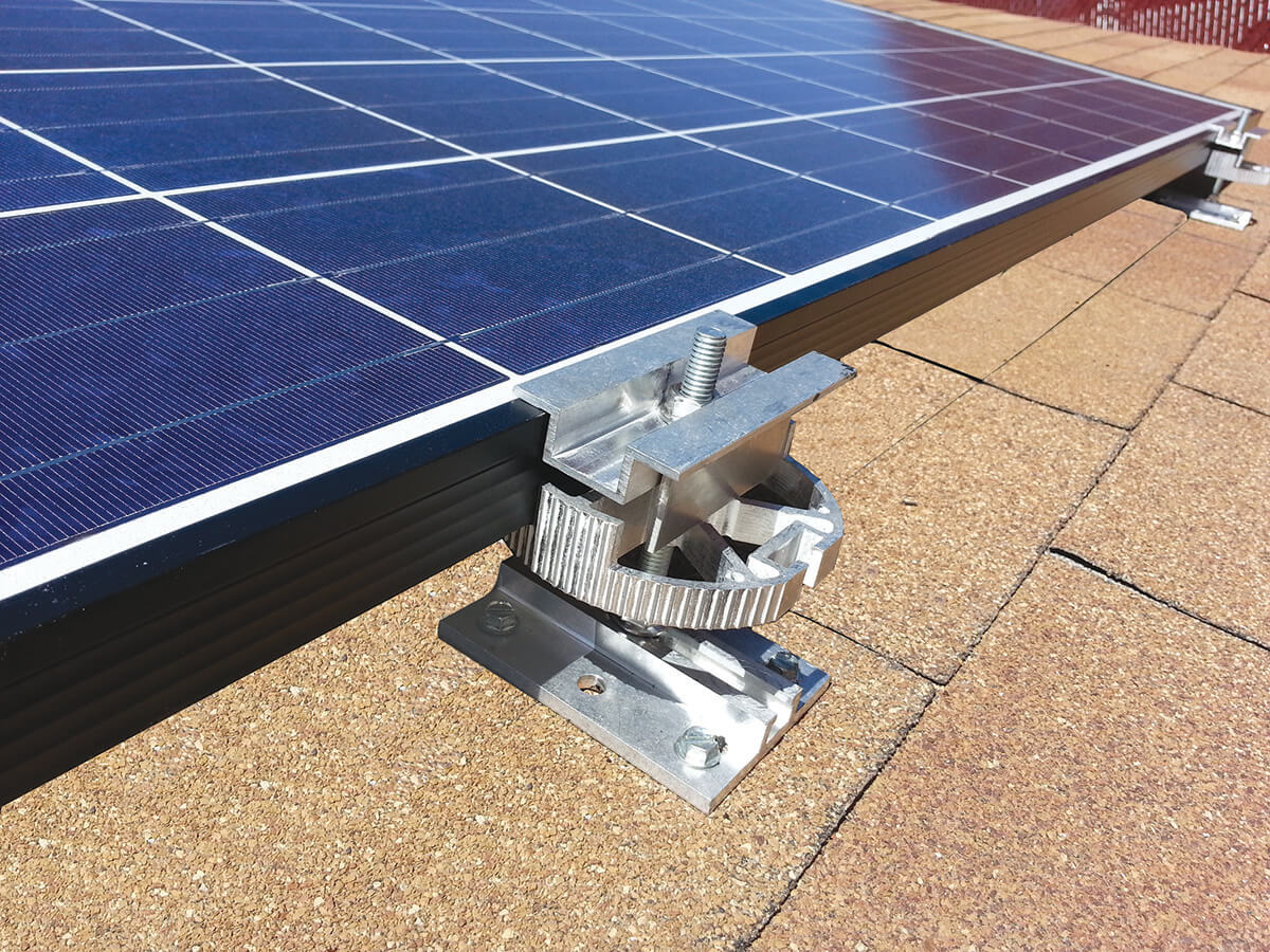 DPW DPW Solar Launches POWER DISK Rail-Less Mounting System