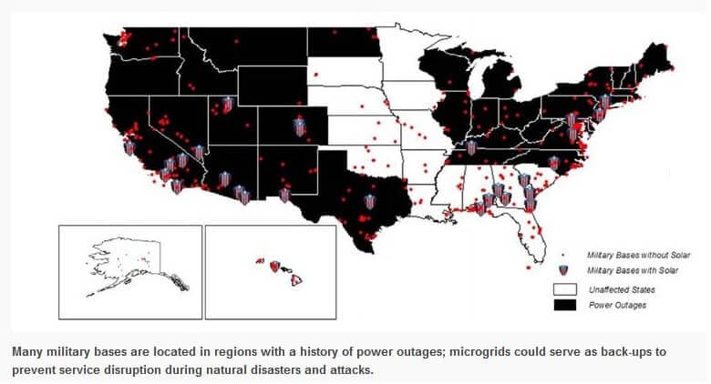 How Military Solar-Powered Microgrids Could Boost National Security